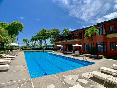 Photo for Beachfront Getaway Directly On South Jaco Beach
