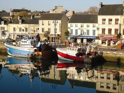 Exceptionally Located On The Port Beautiful House - Location port en bessin