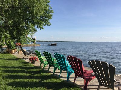 Photo for Beautiful Waterfront Cottage (Lake Simcoe)