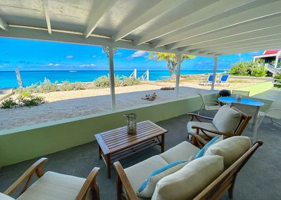 Your own private covered veranda with amazing views.