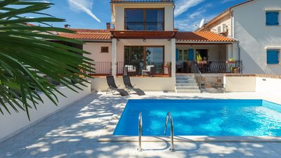 Photo for Charming villa in Istrian hinterland with pool