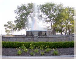 The historic Fountain at Lakeview Beach