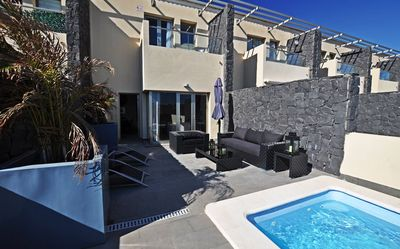 Photo for Villa with private pool, Tenerife south