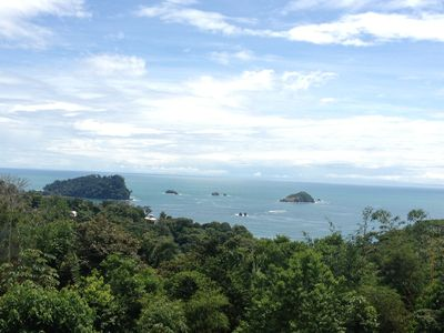 Ocean View overlooking MA National Park Cathedral Point, Islands & Rainforest