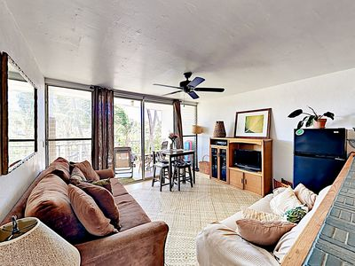 Living Room - Welcome to Paia! This condo is professionally managed by TurnKey Vacation Rentals.