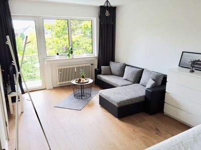 Photo for Modern apartment in Troisdorf-Spich with balcony
