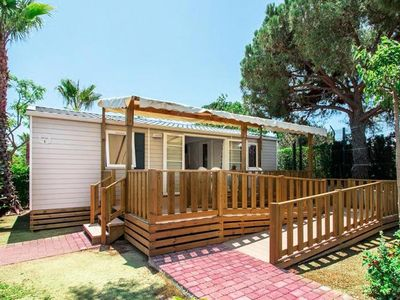 Photo for Camping Domaine de la Marina **** - Mobil Home Resasol 3 rooms 4/6 people PMR