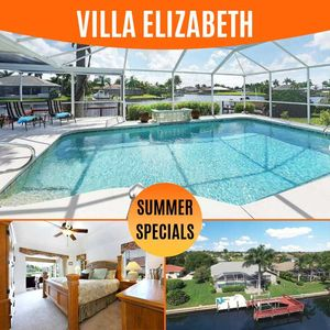 Photo for 26% OFF! -SWFL Rentals - Villa Elizabeth - Relaxing Pool Home with a Lovely View - Sleeps 6