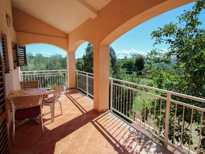 Photo for Apartment Viola, quiet location, balcony with nice view