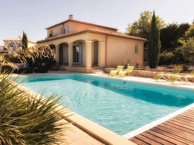 Photo for Villa, Private Pool private terraces, stunning views, Sleeps 6, Narbonne Area