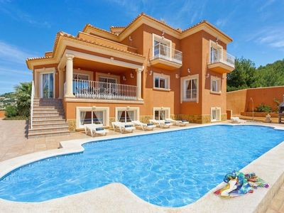 Photo for 9 bedroom Villa, sleeps 24 with Pool, Air Con and FREE WiFi