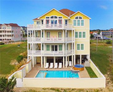 Photo for Enchanting Oceanfront View! Pool, Tiki Bar, Hot Tub, Game Rm, DogFriendly & More