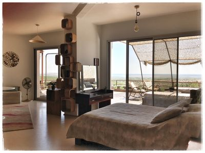 Photo for Loft with sublime view, between sea and Corbières