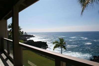 Spectacular views from your lanai!  A look to the South...