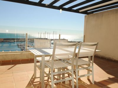 Photo for Beautiful Duplex With Sencational Views Over the Harbour Residencial Marina Del Port 44