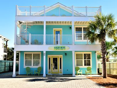 Photo for BOOKING FOR FALL! SLEEPS 20!  PRIVATE POOL/3 MIN TO BEACH /FREE BEACH SET-UP