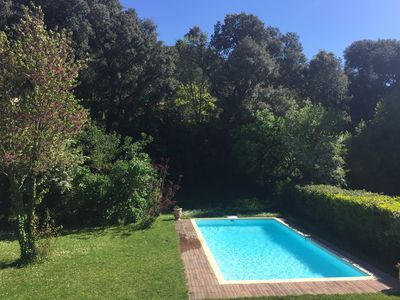 Photo for Villa with pool very close to the city center of Aix