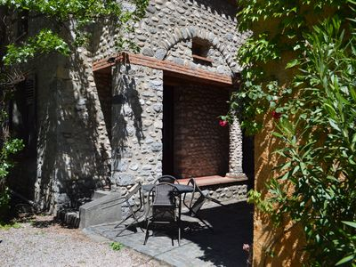 Photo for Two bedroom gite in town of Prades