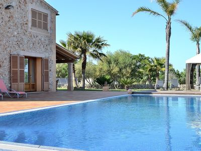 Photo for Son Auba - Quiet villa with pool in a quiet area 043