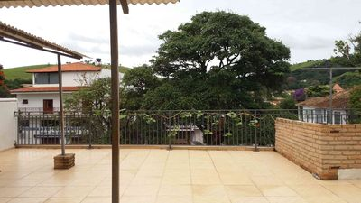 Photo for Great 2 bedroom apartment in Centro, large, 1 suite, terrace, beautiful view!