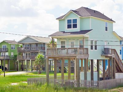 Photo for Sunny Beach Sandcastle Cottage a gorgeous, beach side home with a water view from the decks.  Ask about our FREE activities when you rent this close to town beach home!