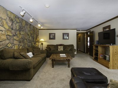 Photo for Two Bedroom overlooking Lake Dillon and close to the rec path!