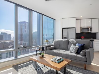 Photo for Bright Rincon Hill 1BR w/ Gym + W/D near Silicon Valley by Blueground