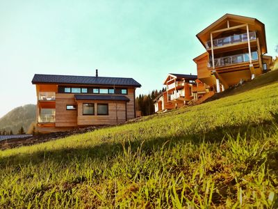 Photo for Ski-in ski-out Chalet directly between the slopes on the Reiteralm