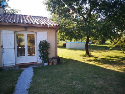 Photo for Montbartier - Quiet guest house 50m2 with swimming pool