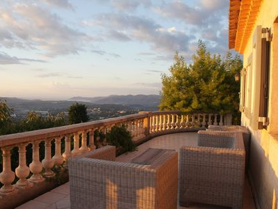 Photo for Enjoy Quiet, Mediterranean Seaview From Your Villa + Airco& Heated Swimming Pool