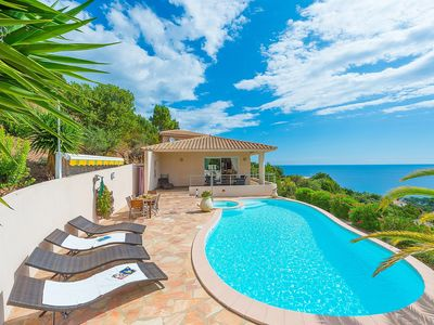 Photo for High standard villa with seaview and private swimming pool. Sleeps 8