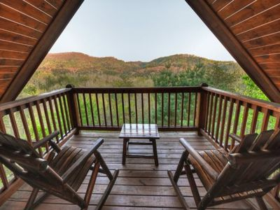 Photo for Awesome Mountain View with hottub, wifi, and more!