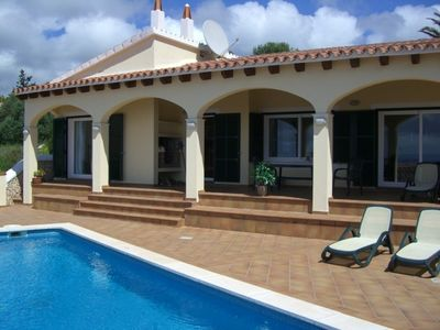 Photo for Newly built 3 bed 3 bath family villa with spectacular sea views