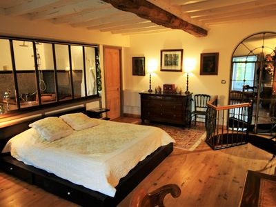 Photo for Romantic cottage with SPA & Sauna, 15 min from the sea and Cherbourg