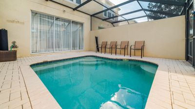 Photo for 2 Disney- Windsor Hills Townhome Private Pool Home W/Free Water Park