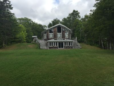 Photo for Private Home Surrounded by 180 Forested Acres on Otter Harbour, Cape Breton