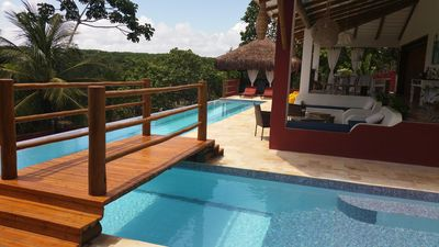 Photo for CASA PALOMA ELEGANTE TROPICAL HOUSE IN PIPA - CLOSE TO THE CENTER AND SEA