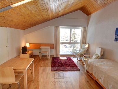 Photo for Very confortable 28 m2 studio, entirely refurbished in 2009, with view on the slopes, in the center
