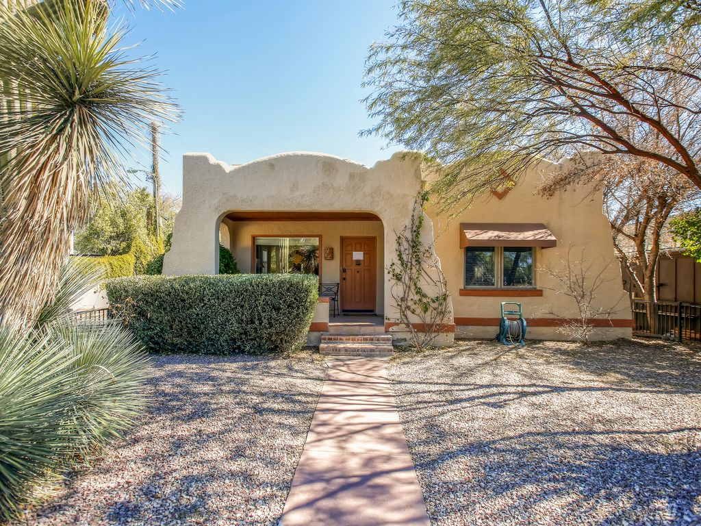 Car Rentals Tucson Az: Serene 2BR Tucson Bungalow House W/Beautifu...