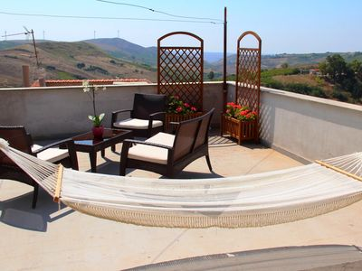 Photo for Apartment near Trapani with panoramic terrace (first floor)