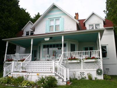 Photo for Mackinac Island Historic Cottage on Bluff
