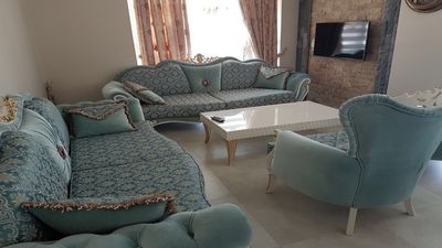 Photo for Luxury 2 storey apartment in Gulluk, Turkey with a sea view