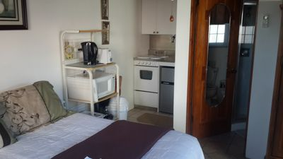 View of room looking at Kitchenette