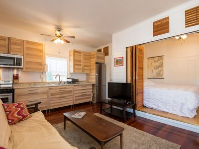 Photo for Studio overlooking historic Key West waterfront.
