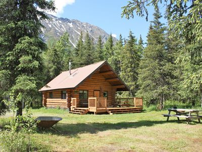 Photo for Upper Paradise Log Cabin - Nightly Rental in the Woods
