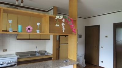 Photo for Two-room apartment with park, terrace and wonderful lake view