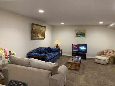Photo for Private And Large Basement Suite, 2 bedrooms