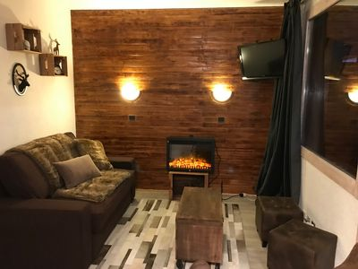 Photo for CoccooN ski - In the heart of BELLE PLAGNE cozy apartment - ski-in ski-out