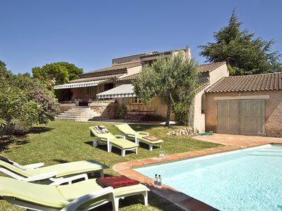 Photo for Beautiful Villa Les Issambres, magnificent sea views, private pool,
