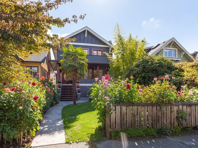 Photo for Beautiful, cozy 3BR in Posh Kitsilano, a must!